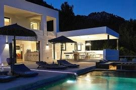 Modern Villa Brings Elegance To Ibiza by Luxurious Villa In Thailand Blends Serene Elegance With