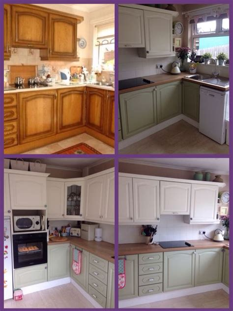 Repainting Kitchen Cupboards by My Kitchen Make I Used Ronseal Kitchen Cupboard