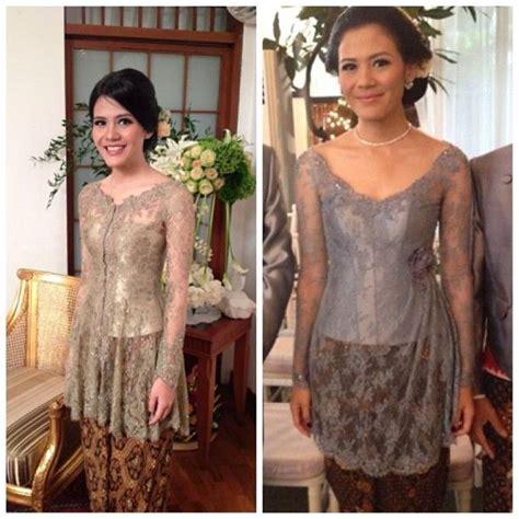 pin  ayu subari  baju kebaya indonesia batik kebaya