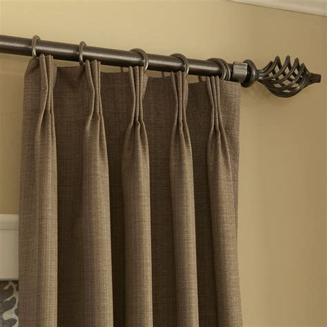how to hang sheers and curtains blinds com easy drapery panels pinch pleat in