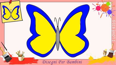 disegni da colorare  bambini  farfalle