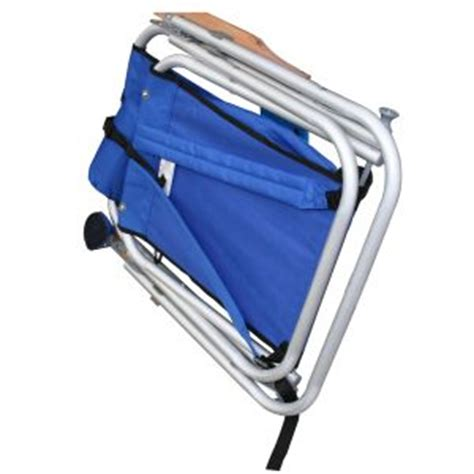 wearever chair with footrest wearever backpak chair royal blue beachkit