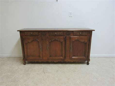 Country Sideboards by Henredon Country Server Sideboard Console Buffet Ebay