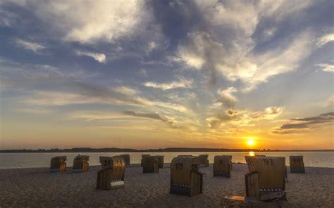 hintergrundbilder goldene abendstimmung  laboe