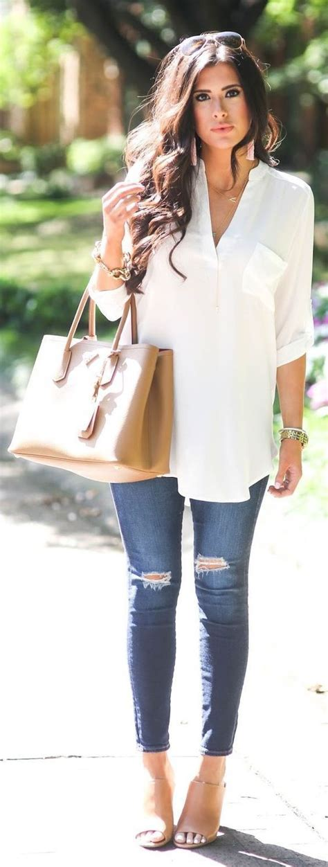 15 casual summer outfits for women to wear all day - Page 10 of 15 - stylishwomenoutfits.com