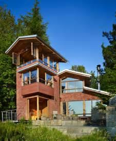 simple modern cottage designs ideas photo lakefront cottage design idea observation loft modern