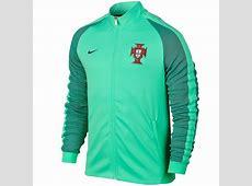 Portugal football N98 presentation jacket 201617 green