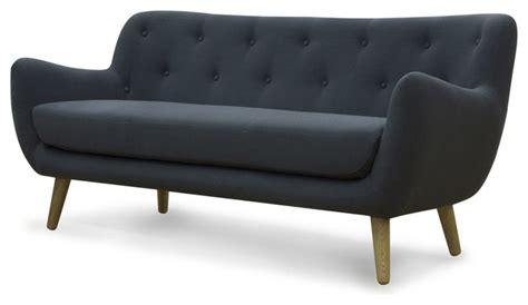 canapé modulable alinea poppy meuble canapé 3 places fixe gris scandinave