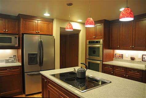 red hanging kitchen lights red pendant light for kitchen home design