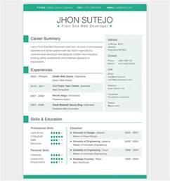 creative resume templates free resume templates creative printable templates free
