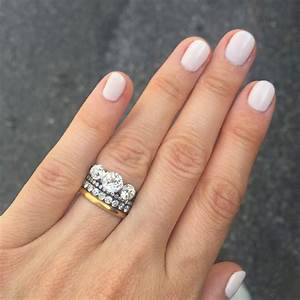 Stacked Wedding Ring Styles That39ll Leave You Breathless