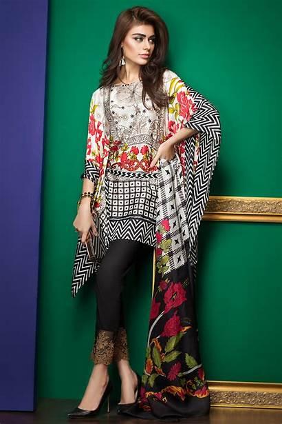 Lawn Dresses Summer Latest Khaadi Pakistani Clothes