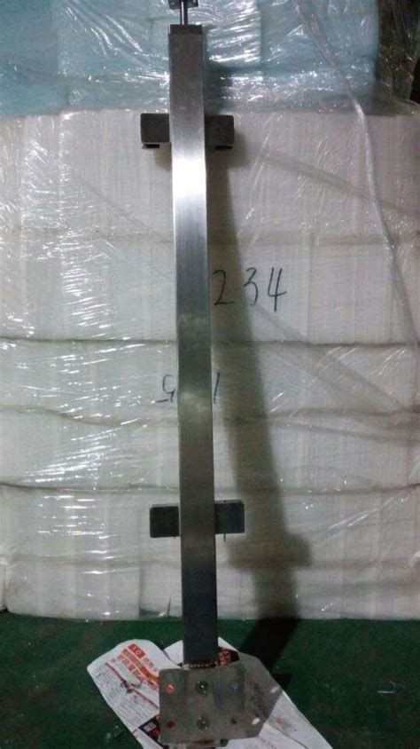 stainless steel side mounted welding square posts xmm