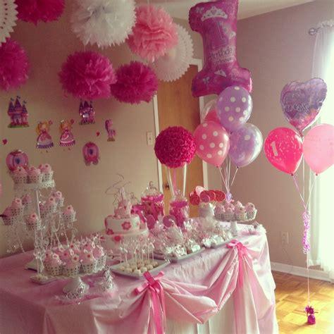 princess decoration princess s 1st birthday tables dessert tables