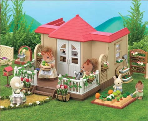 Sylvanian Families Willow Hall Conservatory House Home Ebay