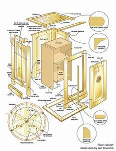 Woodworking Plans Wood Projects Cabinet PDF Plans