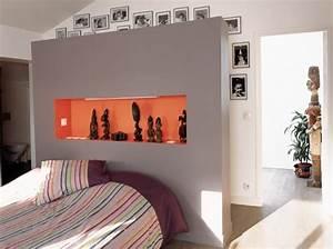 Les concepteurs artistiques: Tete de lit avec dressing derriere