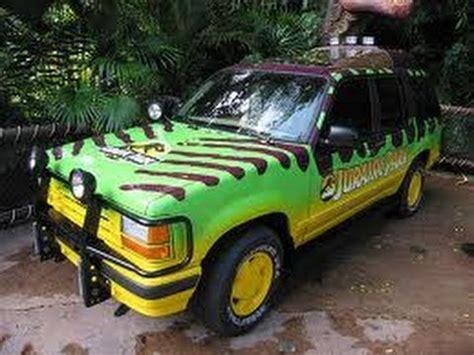 jurassic park tour car moc jurassic park tour cars and t rex pen youtube