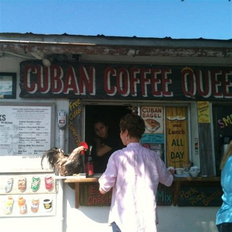 Find tripadvisor traveler reviews of key west cafés and search by price, location, and more. Photos at Cuban Coffee Queen - Coffee Shop in Key West