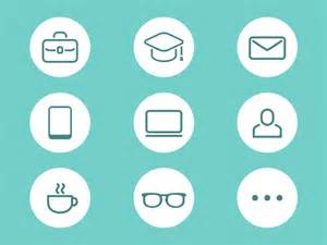 resume icons free resume icon by hana dribbble