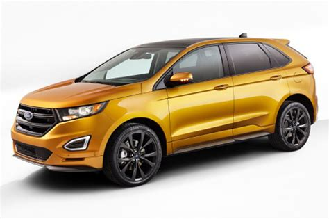ford edge crossover 2015 ford edge suv features and details machinespider com