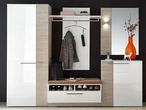 Moderne Garderobe Mit Bank : dublin sitzbank inkl kissen wei taupe ~ Bigdaddyawards.com Haus und Dekorationen