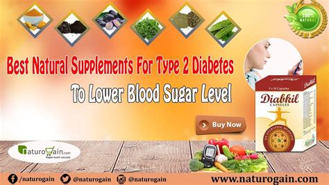 natural supplements  type  diabetes