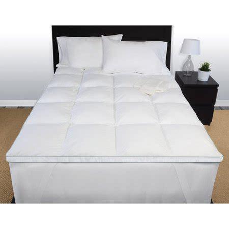 fiber mattress topper beautyrest memory fiber mattress topper walmart