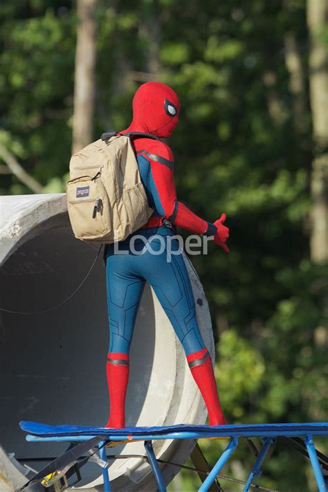 spider man homecoming   scenes pics