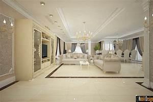 Interior, Design, For, Luxury, Villa, In, Paris