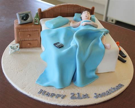 teenage bed cake cake design   bed cake cake
