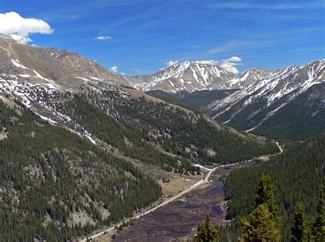 file view of colorado state highway 82 east from