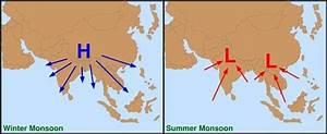 2  Monsoon Wind Pattern In Southeast Asia I  Northeast