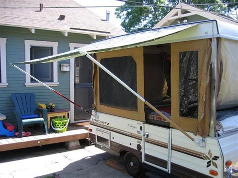 Camper Awnings, Flag Pole Holder And Diy And Crafts On
