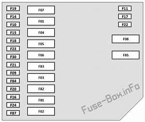 Fuse Box Diagram Fiat 500    500c  2008