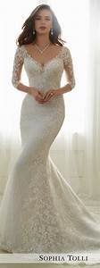 bridal trends 2017 lace illusion sleeves with mon cheri With wedding dresses with sleeves 2017