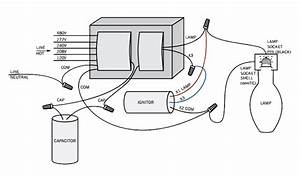 Wiring Diagram  100 Watt Metal Halide Ballast