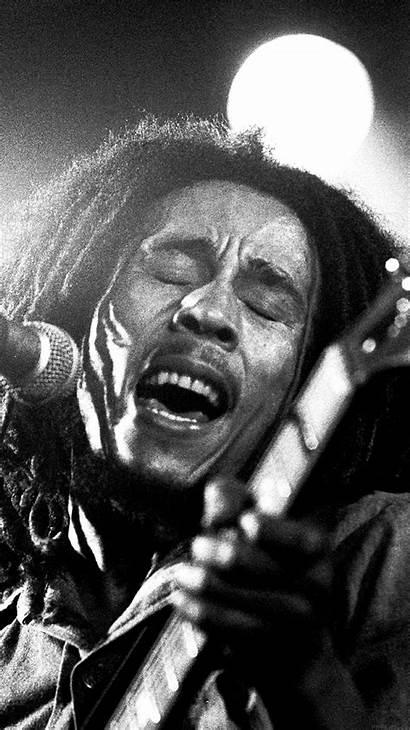 Marley Bob Reggae Dark Illust Celebrity Iphone