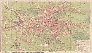 Ģeogrāfiskā karte - Ļvova (L'viv) - MAP[N]ALL.COM