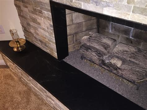 Soapstone Hearth Slab by Soapstone Fireplace Hearths
