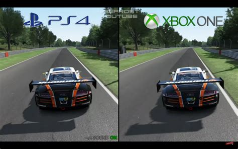 assetto corsa ps4 assetto corsa ps4 vs xbox one gameplay comparison