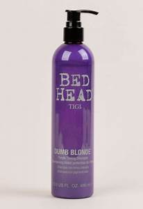 Bed Heads Dumb Blonde Purple Toning Shampoo Review
