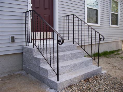 Outdoor Iron Stair Railing Wrought Handrails Stairs Hand