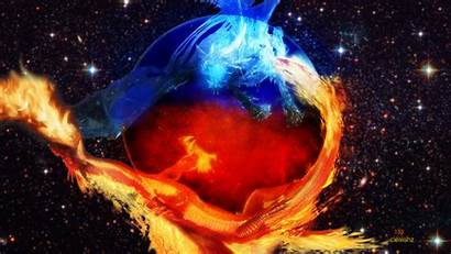 Fire Wallpapers Desktop Ice Dragon Earth Dragons