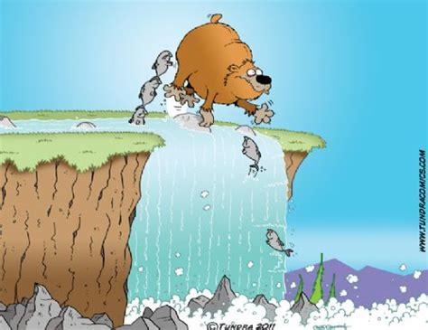 tundra comics fishing cartoonc drowning worms