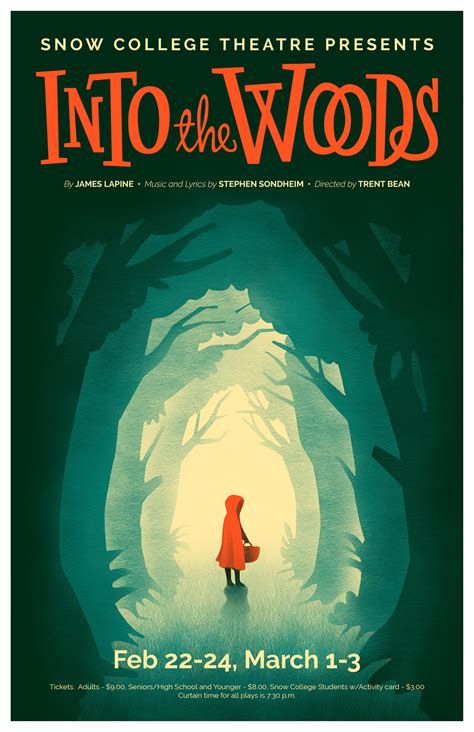 Snow College Theatre Posters on Behance