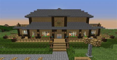 Bauideen Aus Holz by ᐅ Landhaus In Minecraft Bauen Minecraft Bauideen De