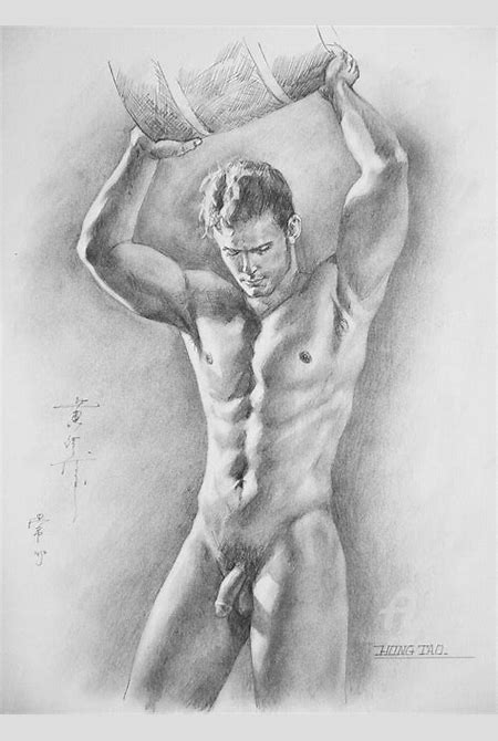 Artistic Nude Pencil Drawings - DRAWING ART IDEAS