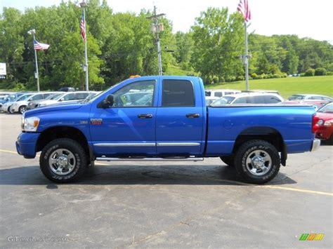 2007 Dodge Ram by 2007 Electric Blue Pearl Dodge Ram 2500 Laramie Cab