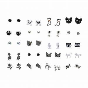 20 Pack Cat Stud Earrings | Claire's
